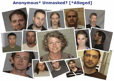 Anonymous Alleged Mugshots