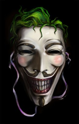 Guy Fawkes Joker (Artwork by Mar - sudux.com)